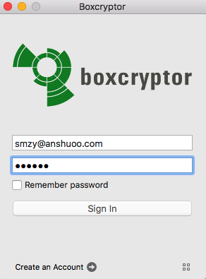 BoxCryptor for Mac